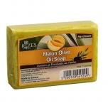 Käsitööseep meloni/oliiviõli 100g