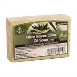 Käsitööseep oliivilehe tükikestega  100g